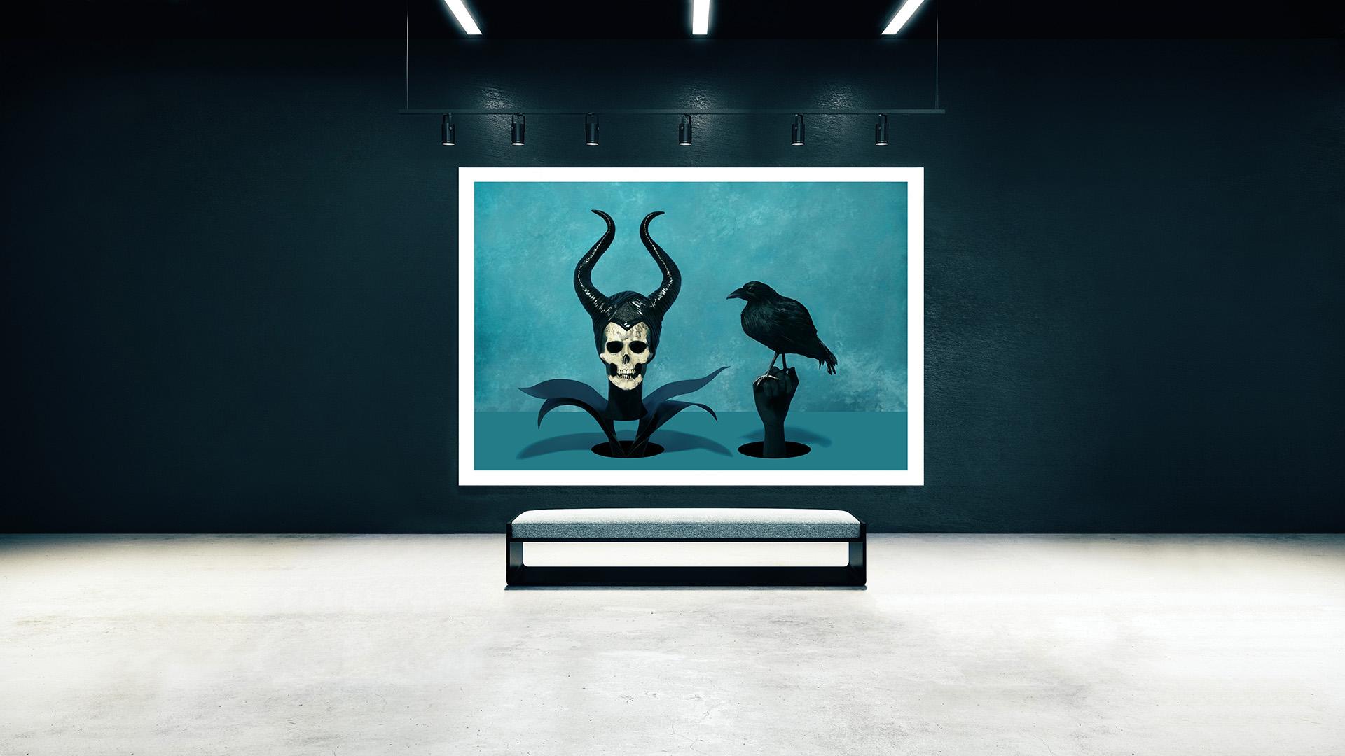 Exposicion-Sintora-Memento-mori-bruja-malefica-cuervo-Horno-Art-Virtual-Gallery-galeria-arte-fotografia-artistica-decorativa