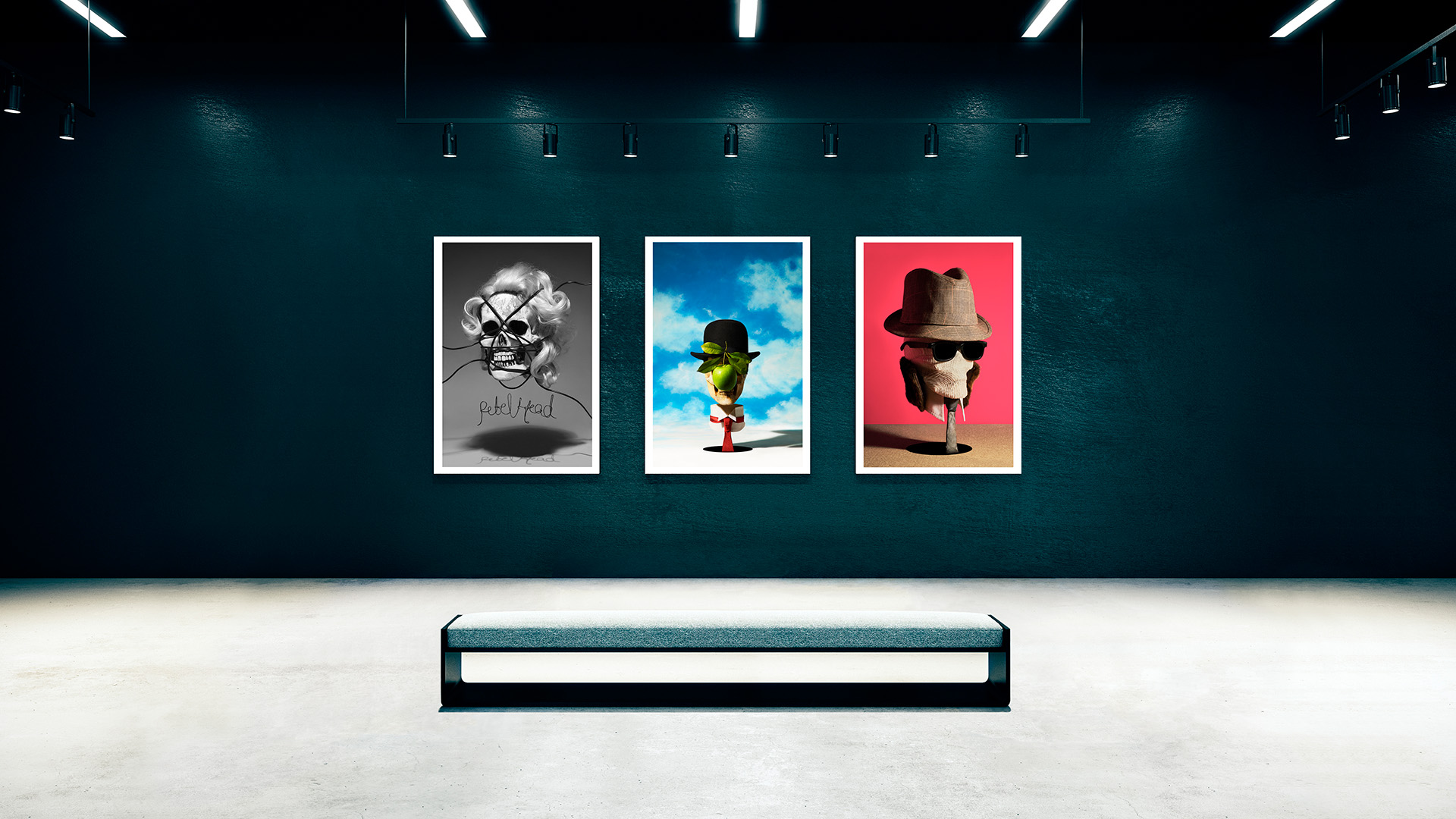 Exposicion-Sintora-Memento-mori-rebel-head-magritte-hombre-invisible-Horno-Art-Virtual-Gallery-madonna-galeria-arte-fotografia-artistica-decorativa