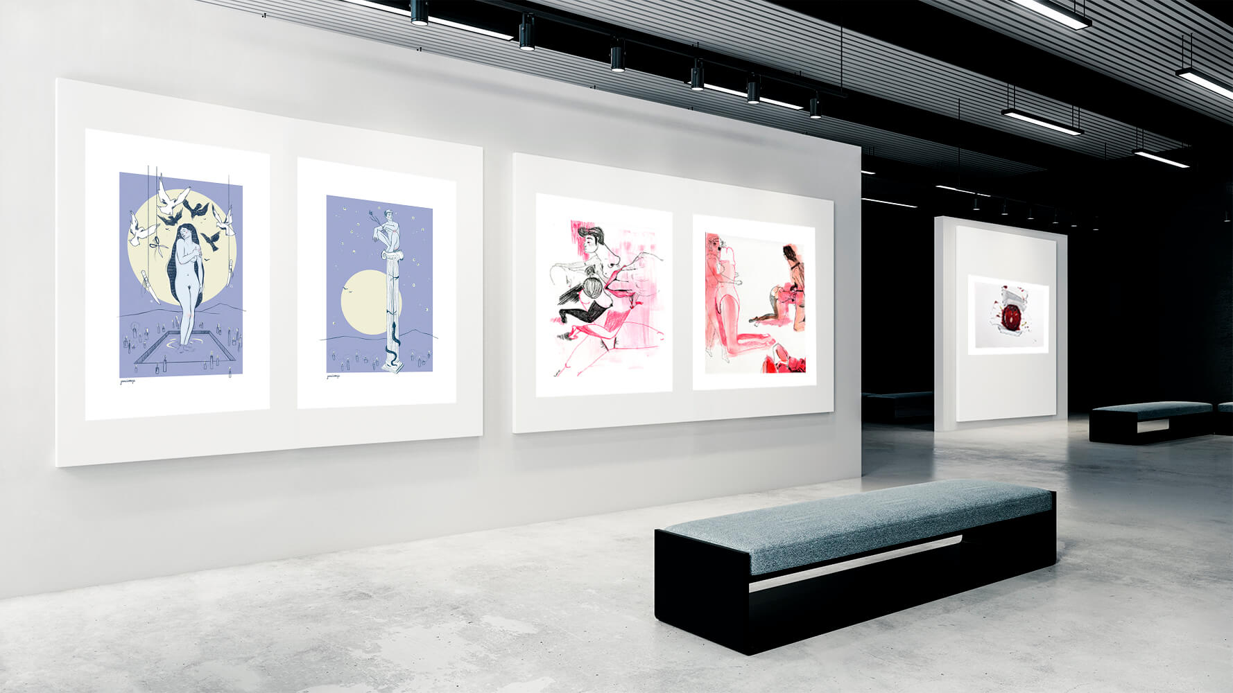 De-peccatis-et-morte-exposicion-colectiva-Horno-Art-Virtual-Galleryl-galeria-arte-ilustracion-decorativa-decoracion-jamalamaja-los-pelos-del-jcoin