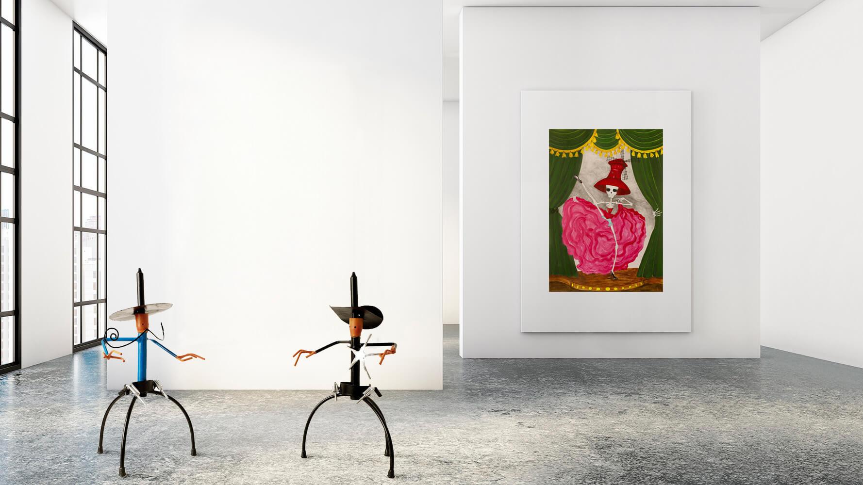 De-peccatis-et-morte-exposicion-colectiva-Horno-Art-Virtual-Galleryl-galeria-arte-ilustracion-escultura-decorativa-decoracion-jorge-duran-sandra-trujillo-moulin-rouge-2