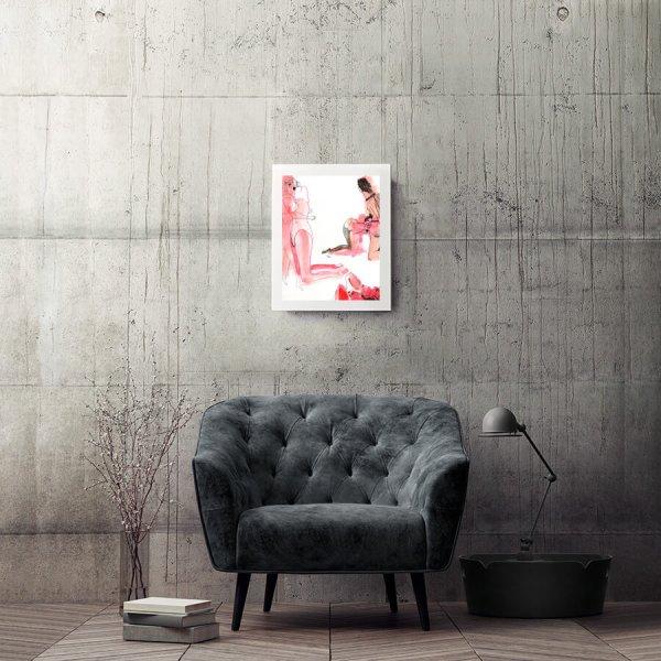 Los-Pelos-del-orgia mix-exposicion-de-peccatis-et-morte-Horno-Art-Virtual-Gallery-galeria-arte-online-ilustracion-fotografia-decoracion-interiorismo