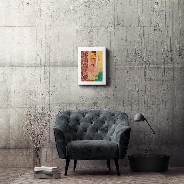 Sandra-trujillo-ilustracion-La-Pereza-exposicion-de-peccatis-et-morte-Horno-Art-Virtual-Gallery-galeria-arte-ilustracion-fotografia-decoracion-interiorismo