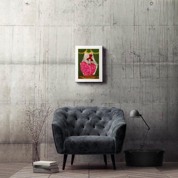 Sandra-trujillo-ilustracion-le-crane-moulin-rouge-de-peccatis-et-morte-Horno-Art-Virtual-Gallery-galeria-arte-ilustracion-decoracion-interiorismo-calavera-skull