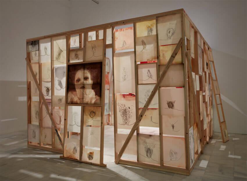 Ida-Applegroog-marginalias-Museo-reina-sofia-Exposicion-Madrid-2021-Horno-Art-Virtual-Gallery-galeria-arte-online-decoracion-interiorismo-obra-850x624