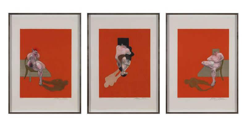 Litografia-Exposicion-Museo-Bancaja-Valencia-De-profundis-Artistas-pintor-Francis-Bacon.-Triptych-1983-Horno-galeria-arte-online-800x410