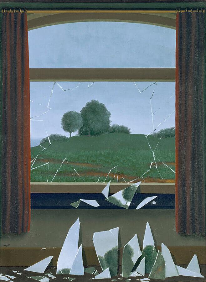 clef-des-champs-René-Magritte-Exposicion-La-Maquina-Magritte-Museo-Thyssen-2021-Horno-galeria-arte-online-900x658